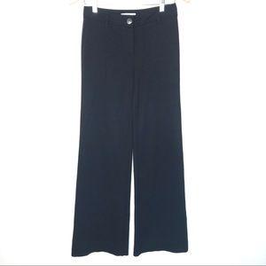 White House Black Market Wide Leg Black pants
